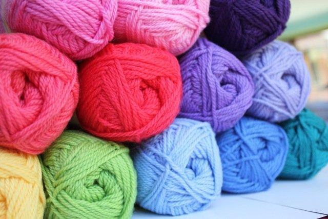 Colorworks 8ply fine merino wool - sea foam 496