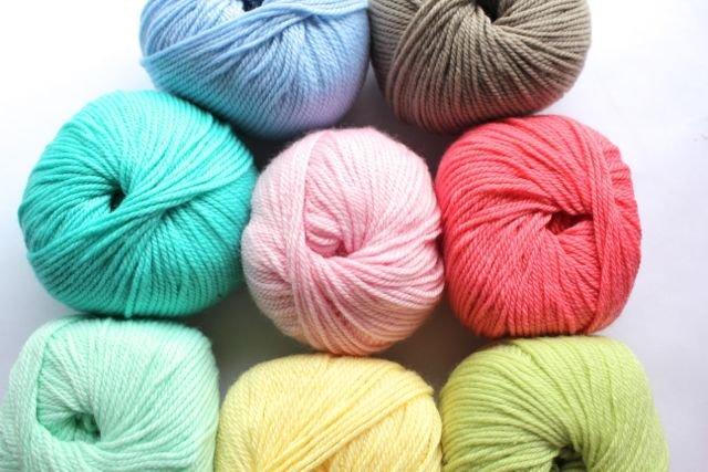 Heirloom Baby Wool 8ply - lemon 444