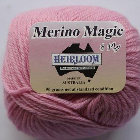 Heirloom Merino Magic 8ply - dusty rose 215