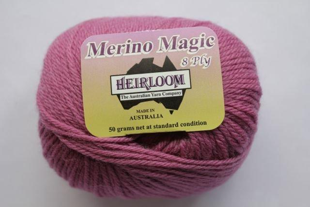 Heirloom Merino Magic 8ply - plum 216