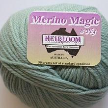 Heirloom Merino Magic 8ply - sea green 221