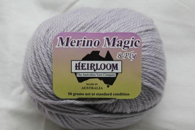 Heirloom Merino Magic 8ply - grey 206