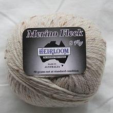 Heirloom Merino Fleck 8ply -oatmeal 552