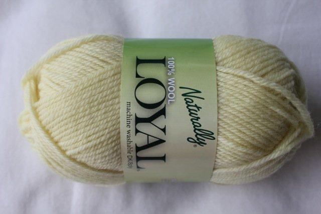loyal 8ply (DK) - lemon 902