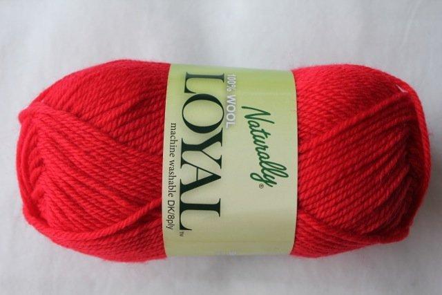 Loyal 8ply (DK) - cherry red 930