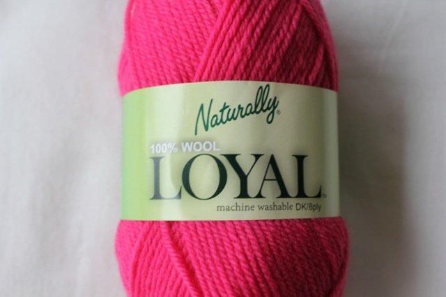 Loyal 8ply (DK) - deep rose 920