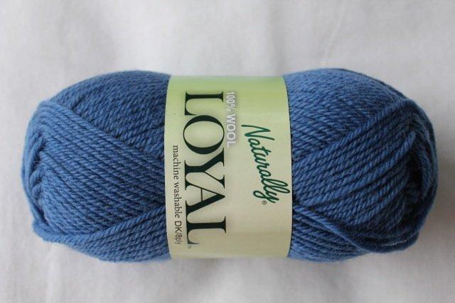 Loyal 8ply (DK) - steel blue 925