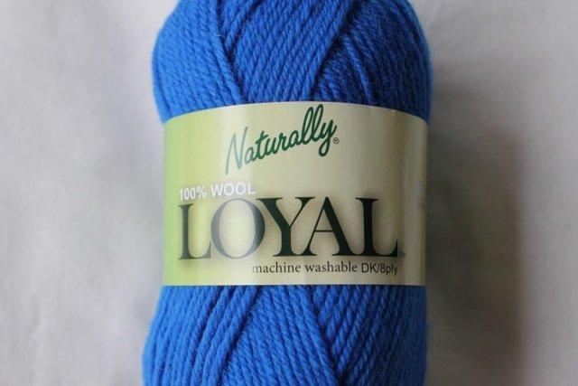Loyal 8ply (DK) - electric blue 923