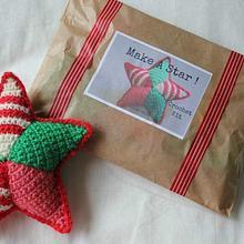 Crochet kits - Make a Christmas Star!