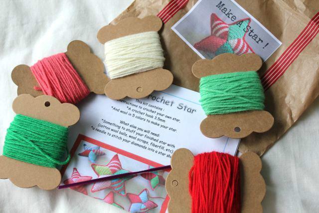 Crochet kits - Make a Christmas Star!