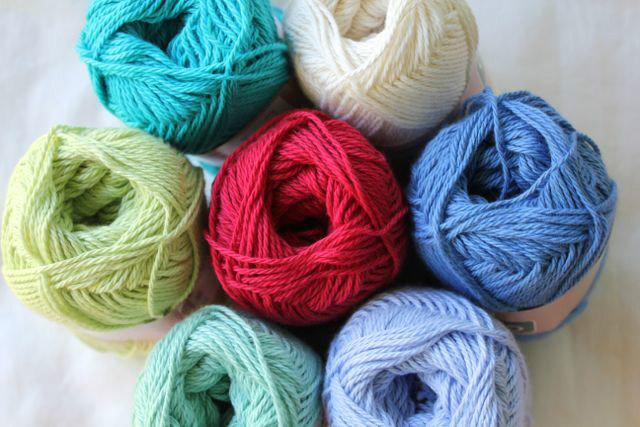 Heirloom Cotton 8ply -pale blue 602