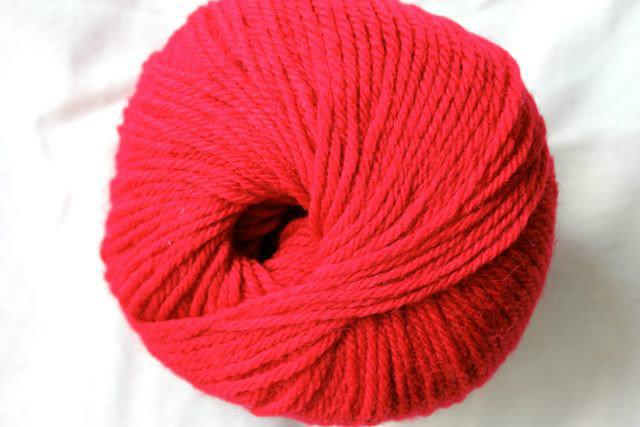 Heirloom Merino Magic - rich red 202