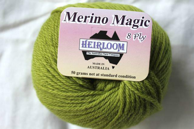 Heirloom Merino Magic - olive 235