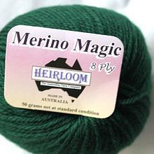 Heirloom Merino Magic - deep forest 519