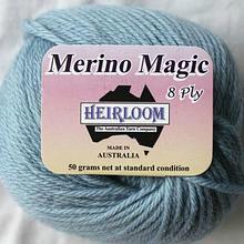 Heirloom Merino Magic - ice blue 229