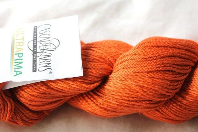 Cascade Ultra Pima - 3750 Tangerine