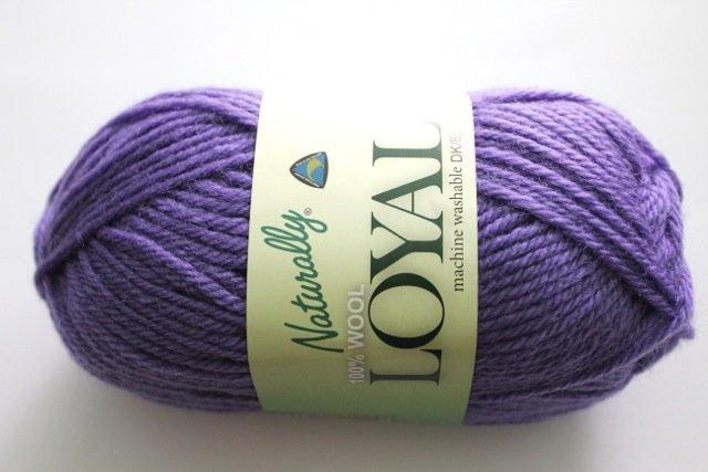 Loyal 8ply (DK) - mid purple 951