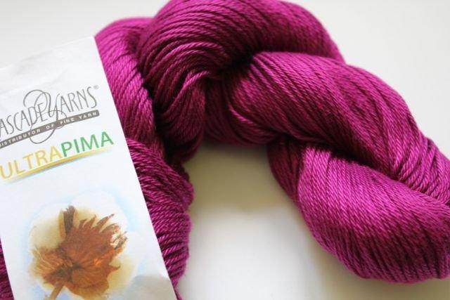 Cascade Ultra Pima - 3703 Magenta
