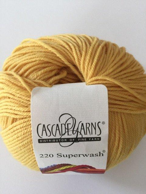 220 Superwash - Daffodil 821