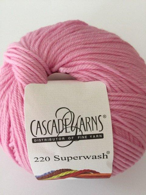 220 Superwash - Pink Ice 836