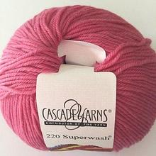 220 Superwash - Medium Rose 839