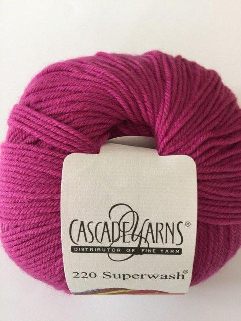220 Superwash - Raspberry 807