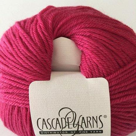 220 Superwash - Berry Pink 837