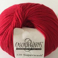 220 Superwash - Really Red 809