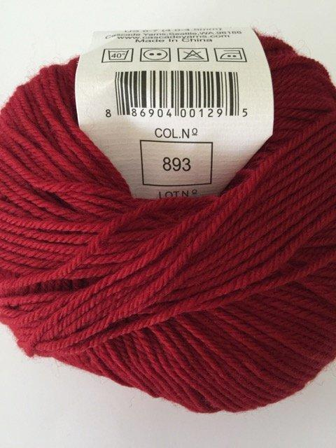 220 Superwash - Ruby 893