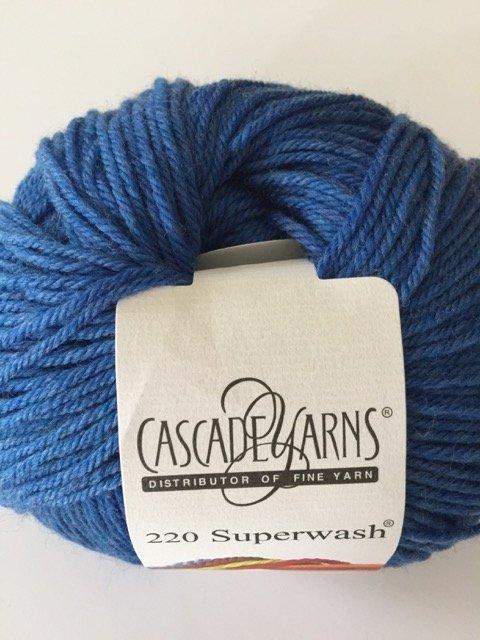 220 Superwash - Sapphire Heather 1951