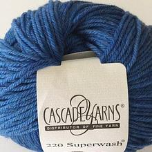 220 Superwash - Sapphire Heather 1951