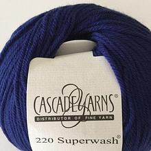 220 Superwash - Blue Velvet 813