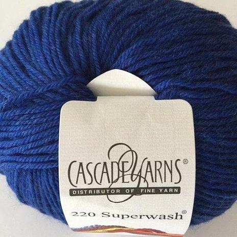 220 Superwash - Cobalt Heather 1925
