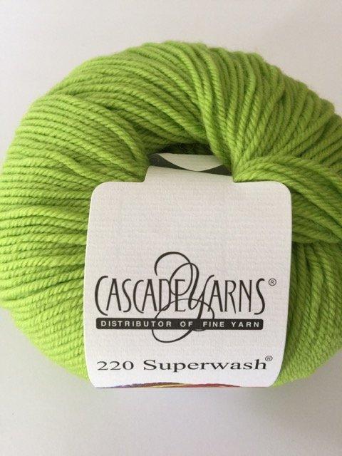 220 Superwash - Wasabi 887