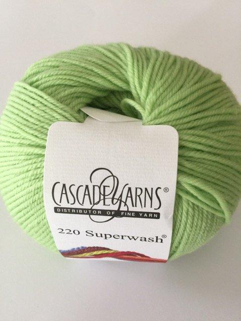 220 Superwash - Lime Sherbet 850