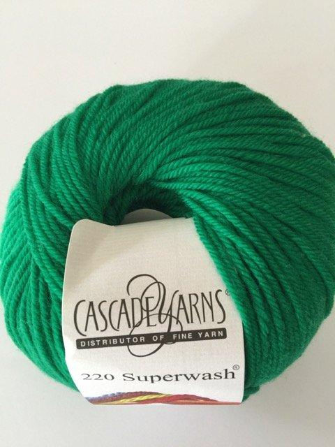 220 Superwash - Christmas Green 864