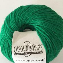 220 Superwash - Christmas Green 864