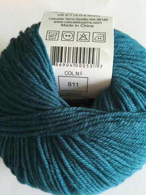 220 Superwash - Como Blue 811
