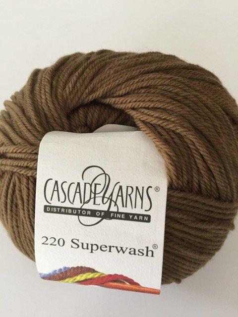 220 Superwash - Mocha 818