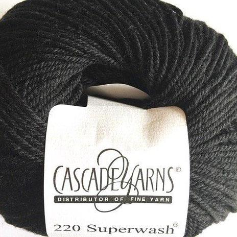 220 Superwash - Black 815