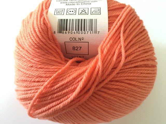 220 Superwash - Coral 827