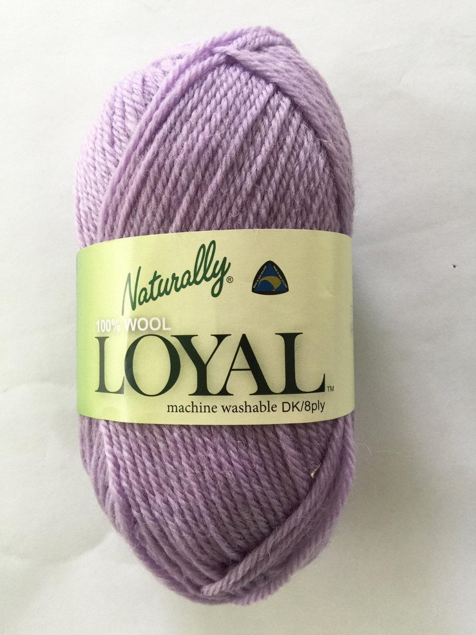 Loyal 8ply (DK) - mauve 921