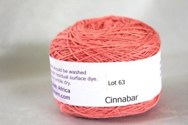 MoYa Lace Plume -Cinnabar