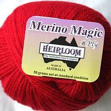 Heirloom Merino Magic - Bright Red 512