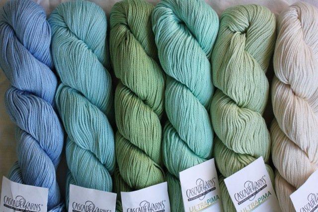 Cascade Ultra Pima - 3807 Jasmine Green
