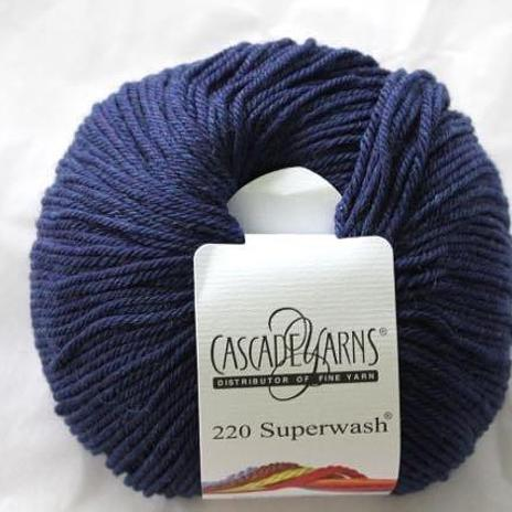 220 Superwash - Midnight Heather 1924