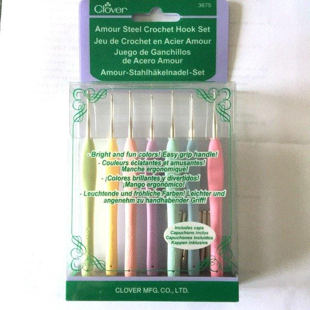 Clover Amour Crochet Hook Set - small sizes
