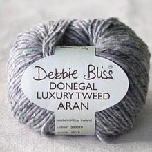 Debbie Bliss Donegal Luxury  Tweed - 10 Silver