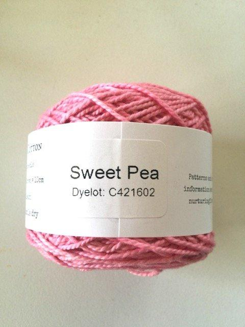 Nurturing Fibres Eco Cotton - Sweetpea