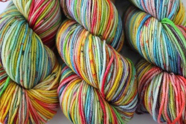 Kate Selene DK Superwash - Rainbow Sherbet